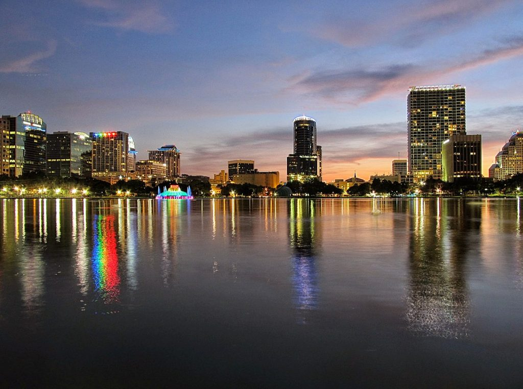 view of waterfront Orlando