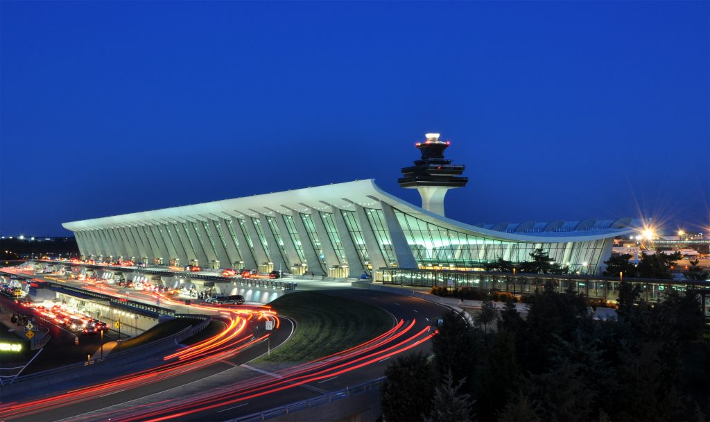 view of airport terminal
